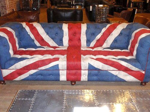 Jual Sofa Tamu Chesterfield Bendera Inggris Harga Murah